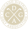 Chicago District Golf Association logo
